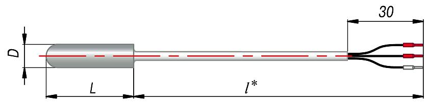 Конструктивное исполнение ДТх014