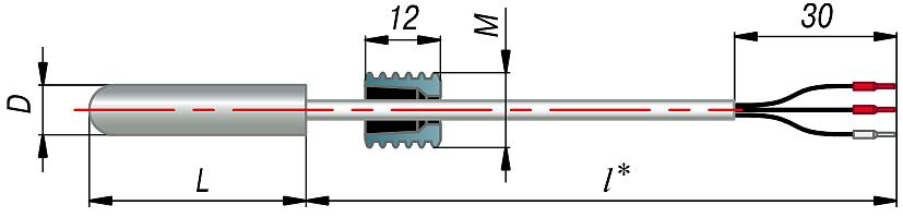 Конструктивное исполнение ДТх034